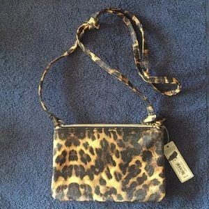 NWT Apt. 9 Leopard Print Handbag Crossbody